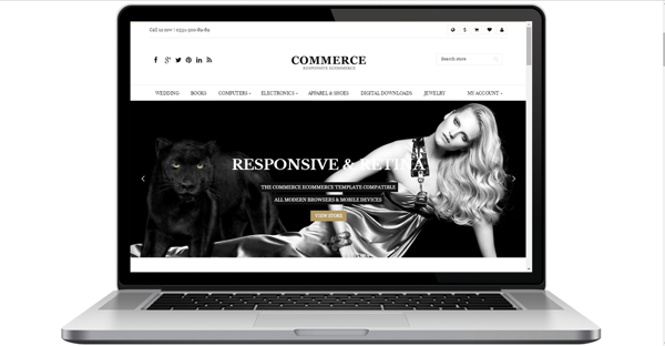 Picture of Commerce Premium Responsive Theme